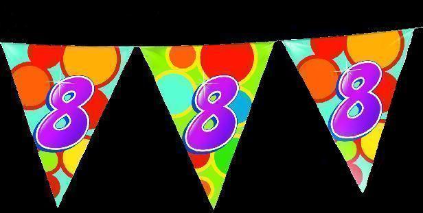 8ste Verjaardag Van Ons 2de Nestje Black Quick Feet