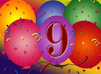 negende verjaardag